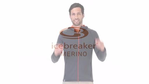 ICEBREAKER Men's Kodiak Hoodie - image 2 from the video