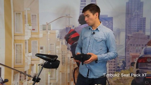 TIMBUK2 Seat Pack XT, Small - image 3 from the video