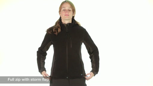 EMS Divergence Fleece Jacket - Women's - image 3 from the video
