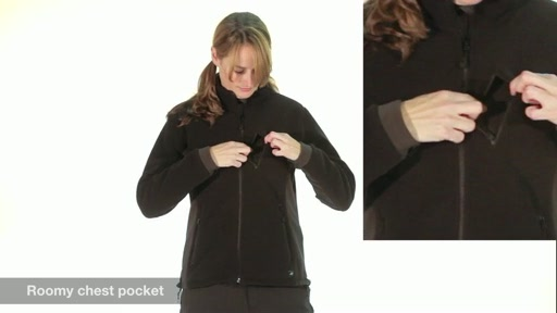 EMS Divergence Fleece Jacket - Women's - image 4 from the video