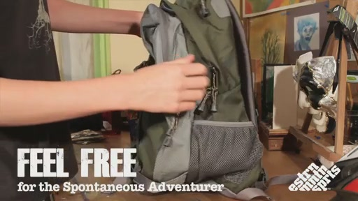 EMS Feel Free Daypack - image 1 from the video