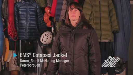 EMS Cotopaxi Down Jacket - Women's - image 1 from the video