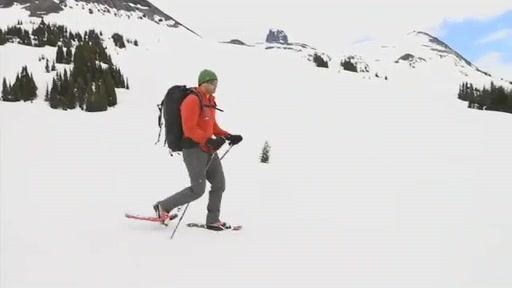 MSR Lightning Axis 25 Snowshoe - image 4 from the video