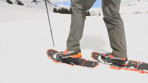 MSR Lightning Axis 25 Snowshoe - image 9 from the video
