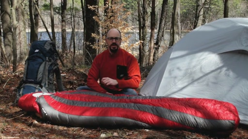 EMS Mountain Light 15° Sleeping Bag - image 1 from the video