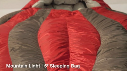 EMS Mountain Light 15° Sleeping Bag - image 2 from the video
