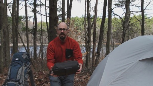 EMS Mountain Light 15° Sleeping Bag - image 7 from the video
