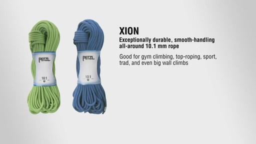 Petzl Xion Rope - image 10 from the video
