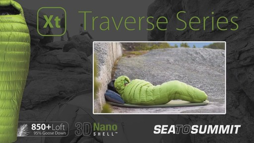SEA TO SUMMIT Traverse II 12° Sleeping Bag - image 5 from the video