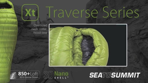 SEA TO SUMMIT Traverse II 12° Sleeping Bag - image 6 from the video