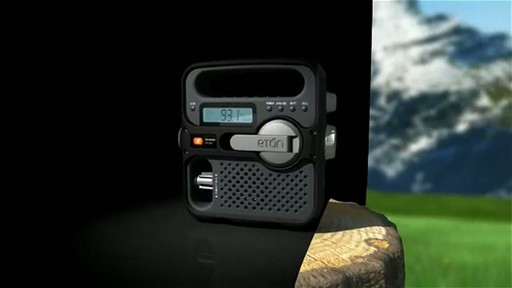 ETON Solarlink FR360 Radio - image 2 from the video