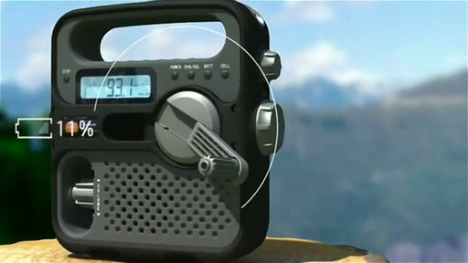 ETON Solarlink FR360 Radio - image 4 from the video