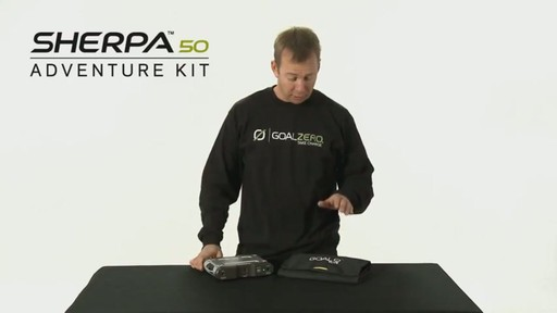 GOAL ZERO Sherpa 50 Adventure Kit - image 1 from the video