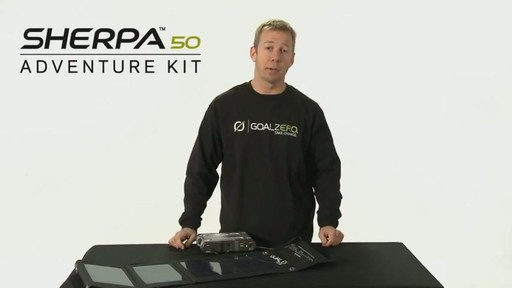 GOAL ZERO Sherpa 50 Adventure Kit - image 2 from the video