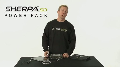 GOAL ZERO Sherpa 50 Adventure Kit - image 7 from the video