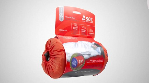 ADVENTURE MEDICAL KITS SOL Thermal Bivy - image 1 from the video