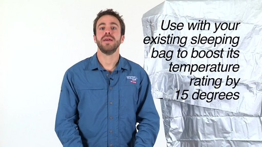 ADVENTURE MEDICAL KITS SOL Thermal Bivy - image 8 from the video
