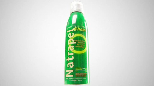 NATRAPEL 8 hr. Insect Repellant - image 1 from the video