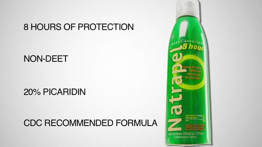 NATRAPEL 8 hr. Insect Repellant - image 10 from the video