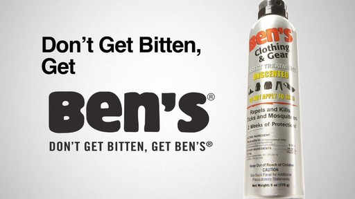 AMK Ben's Clothing and Gear Repellent - image 10 from the video