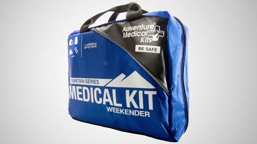 ADVENTURE MEDICAL KITS Weekender First-Aid Kit - image 10 from the video