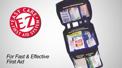 ADVENTURE MEDICAL KITS Weekender First-Aid Kit - image 2 from the video