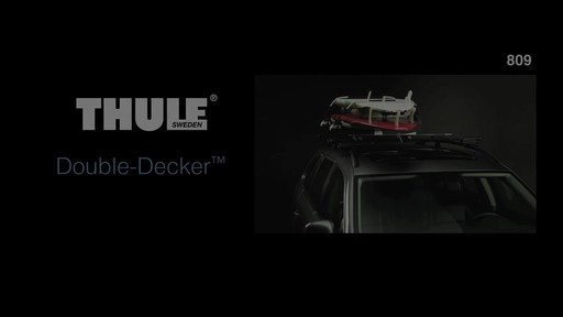 THULE Double-Decker Features - image 1 from the video