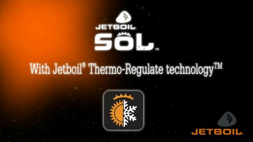 JETBOIL Sol Ti Advanced Cooking System - image 1 from the video