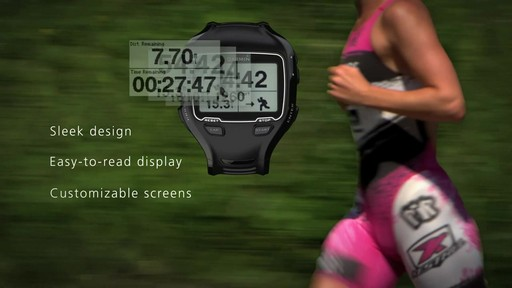 GARMIN 910XT with Heart Rate Monitor - image 3 from the video