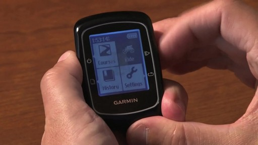 GARMIN Edge 200 GPS - image 4 from the video