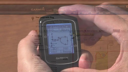 GARMIN Edge 200 GPS - image 8 from the video