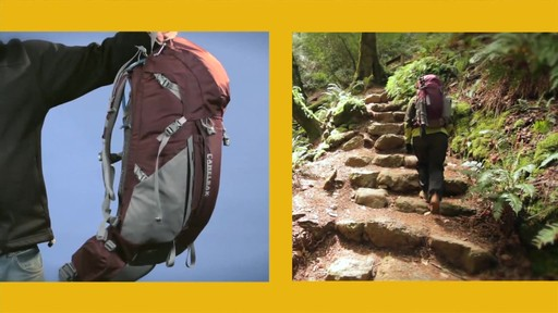 CAMELBAK Women's Vista Hydration Pack - image 10 from the video
