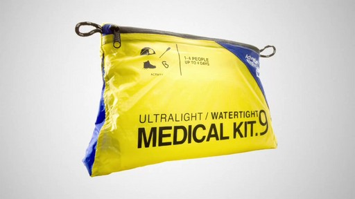 AMK Ultralight/Watertight Medical Kit .9 - image 1 from the video