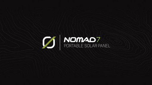 GOAL ZERO Nomad 7 Solar Panel - image 1 from the video