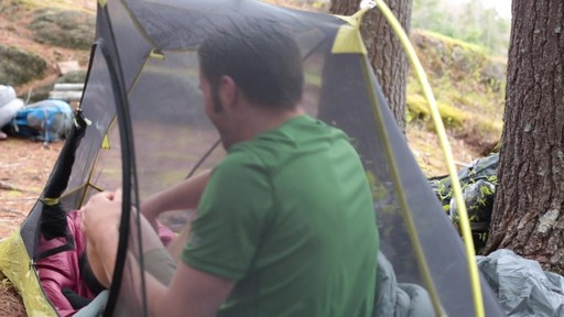 Velocity 1 and 2 tents - Eastern Mountain Sports - image 5 from the video