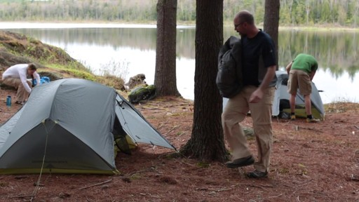 Velocity 1 and 2 tents - Eastern Mountain Sports - image 7 from the video