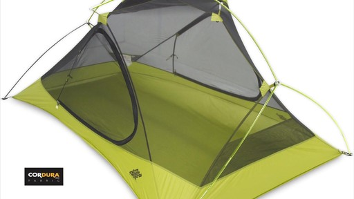 Velocity 1 and 2 tents - Eastern Mountain Sports - image 8 from the video