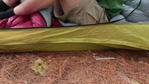 Velocity 1 and 2 tents - Eastern Mountain Sports - image 9 from the video
