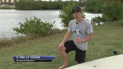 BIC Ocean 12' Stand Up Paddleboard - image 3 from the video