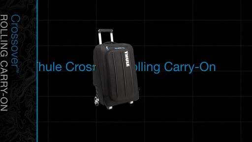 THULE Crossover Rolling Carry-On, 38 L - image 1 from the video