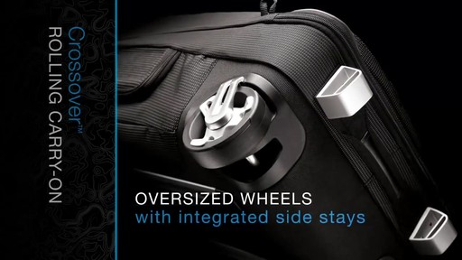 THULE Crossover Rolling Carry-On, 38 L - image 2 from the video