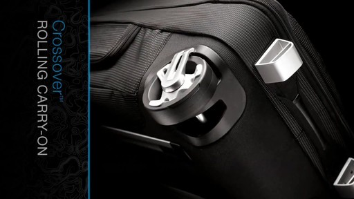 THULE Crossover Rolling Carry-On, 38 L - image 3 from the video