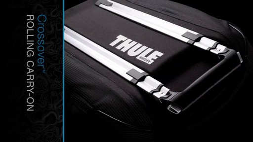 THULE Crossover Rolling Carry-On, 38 L - image 4 from the video