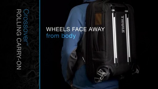 THULE Crossover Rolling Carry-On, 38 L - image 5 from the video