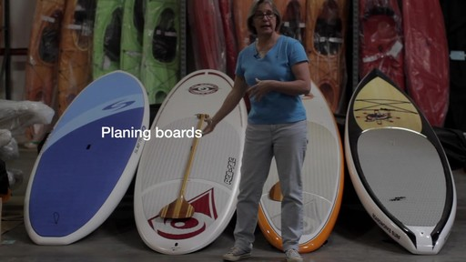 Types of Stand Up Paddleboards - image 1 from the video