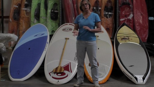 Types of Stand Up Paddleboards - image 2 from the video