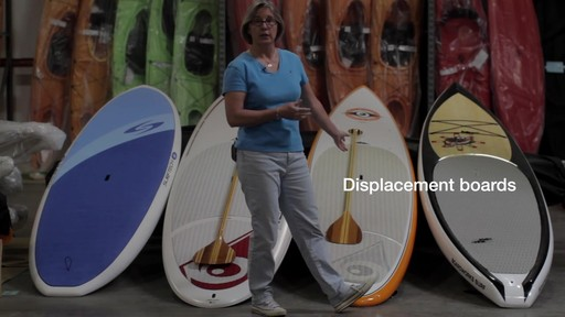 Types of Stand Up Paddleboards - image 3 from the video