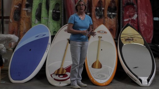 Types of Stand Up Paddleboards - image 4 from the video