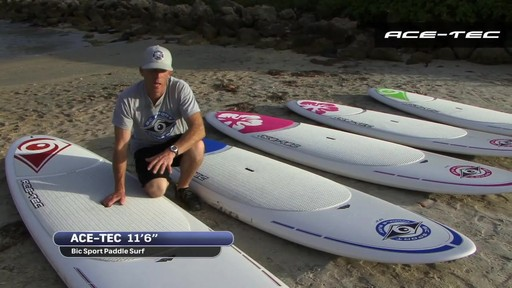 BIC ACE-TEC Stand Up Paddleboards - image 7 from the video