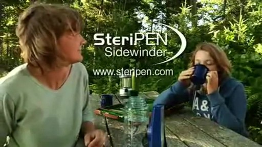 STERIPEN Sidewinder Water Purifier - image 10 from the video